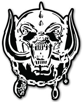 3/'/' or 5/'/' Motorhead March Or Die Music Car Bumper Sticker Decal