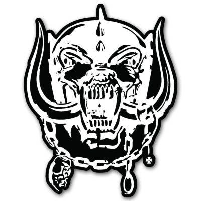 War Window Decal - Motorhead War-Pig heavy metal Vynil Car Sticker Decal - Select Size