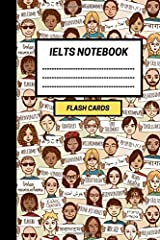 IELTS Notebook: Create your own IELTS Flash cards. Includes Spaced Repetition and Lapse Tracker (480 cards) Paperback