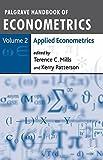 img - for Palgrave Handbook of Econometrics: Volume 2: Applied Econometrics book / textbook / text book