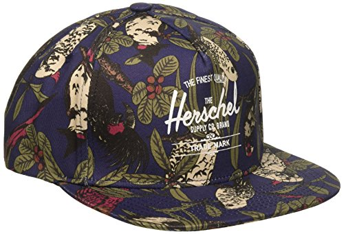 Best buy Herschel Supply . Men' Whaler Cap, Peacoat Parlour, One Size