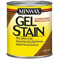 Minwax 66020 1 Quart Gel Stain Interior Wood, Aged Oak by Minwax