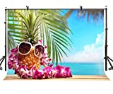 LYLYCTY 7x5ft Pineapple Backdrop Summer Style Creative Pineapple Shape Photography Background and Studio Photography Backdrop Props LYGE847