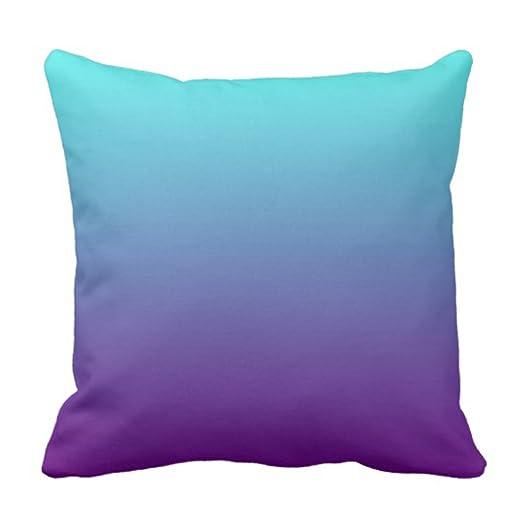 Amazon.com: emvency Throw almohada cover simple Gradiente de ...