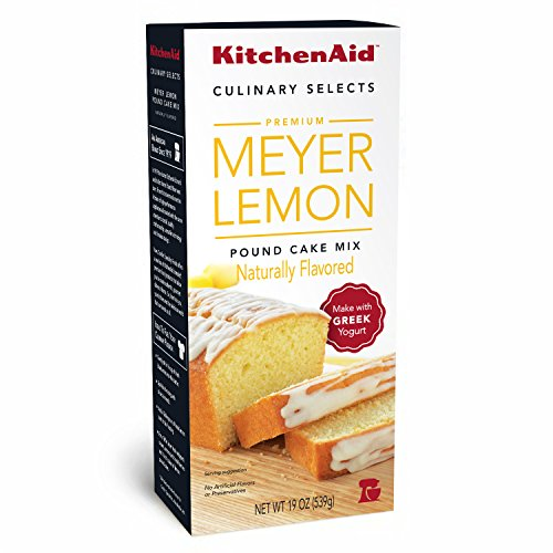 KitchenAid Meyers Pound Cake, Lemon, 19 Ounce (Pack of (Meyer Lemon Cake)