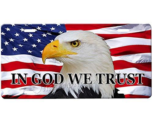 onestopairbrushshop American Eagle License Plate