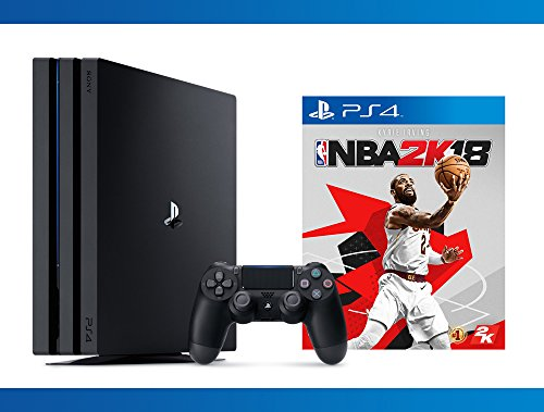 Playstation 4 Pro 1TB Console + NBA 2K18 + NBA 2K17 Bundle ( 3 – Items )