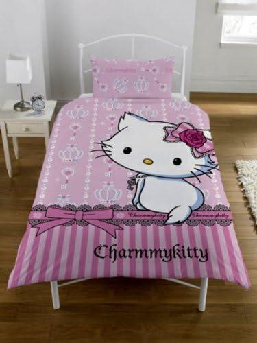 Original Sanrio Hello Kitty Charmmy kitty Parure de lit collection 2012 Rose 200 x 137 cm