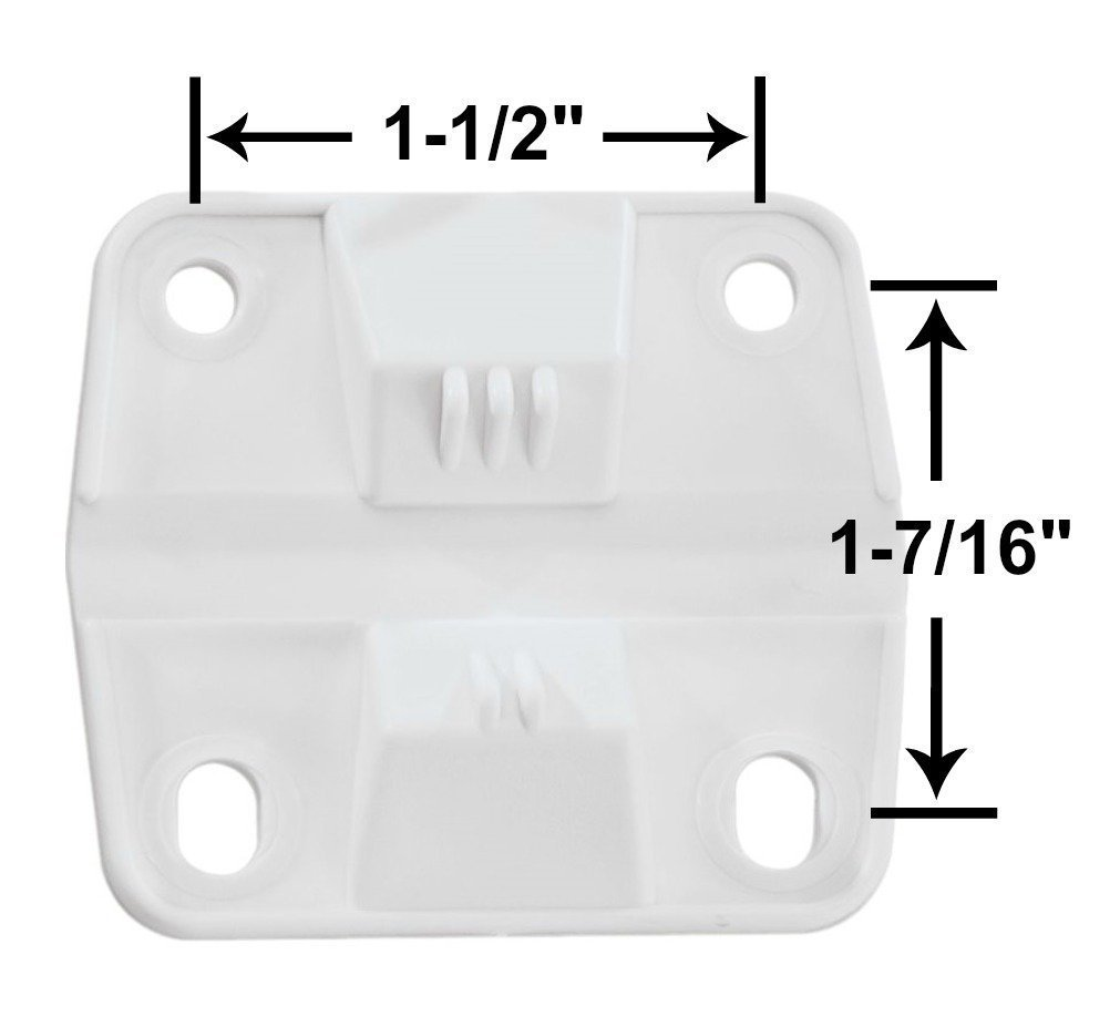 Coleman Ice Chest Cooler Replacement Plastic Hinges and Screws Set &  Standard Drain Plug Assembly - 1'' Shaft Length Combo/Bundle (in Package by  Main