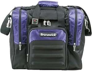 Brunswick Flash Single Tote (Black/Purple)