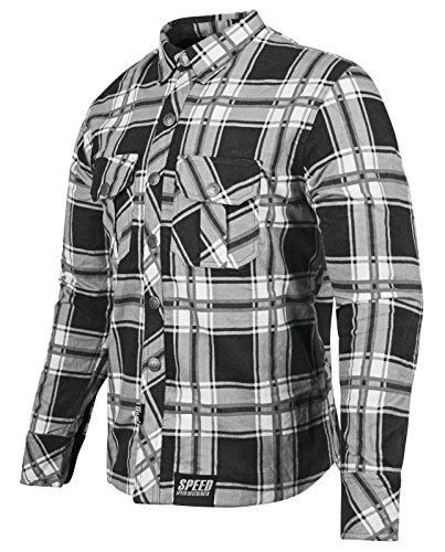 Speed and Strength Men's Rust and Redemption Black/Gray Moto Jacket, XL ()