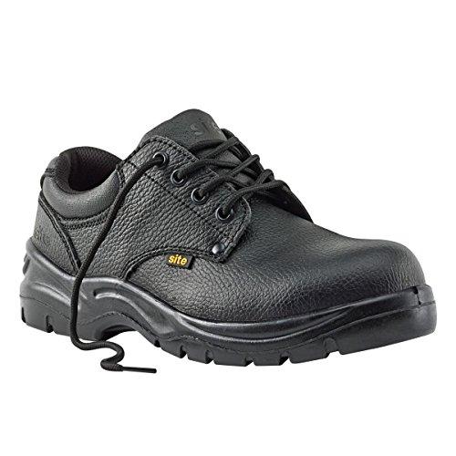 Site de charbon Chaussures de sécurité Noir Taille 12