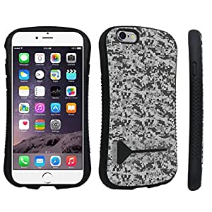 Zheng case Apple iPhone 6 - 4.7 inch Kickstand Case - (Digital ACU Camo Grey)