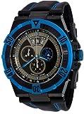 Stuhrling Original Men's 220XL.332L552 Aviator Falcon Blazer Swiss Quartz Multi Function Blue Watch