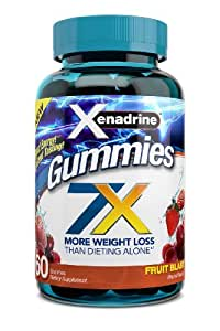 Xenadrine Gummies-Lose Weight with Xenadriine, 60 Gummies, 7x Power Weight Loss Formula