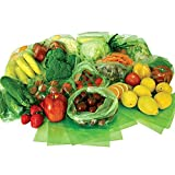 Debbie Meyer Green Bags 50 Counts for Fruit & Vegetable Storage, 3 Sizes