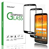 (2 Pack) Beukei for Motorola (Moto E5) Screen Protector Tempered Glass, Glass with 9H Hardness, with Lifetime Replacement Warranty