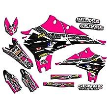 Senge Graphics Late 2001 KTM SX (Has the same plastics as the 2002 SX 250), Podium Pink Graphics Kit