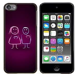 Queen Pattern - FOR Apple iPod Touch 6 6th Generation - Vibrant - Cubierta del caso de impacto con el patr???¡¯???€????€?????n Art Designs