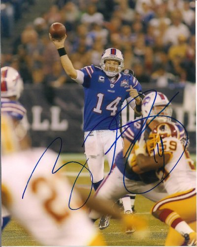 RYAN FITZPATRICK BUFFALO BILLS AUTOGRAPHED SIGNED 8X10 PHOTO W/COA