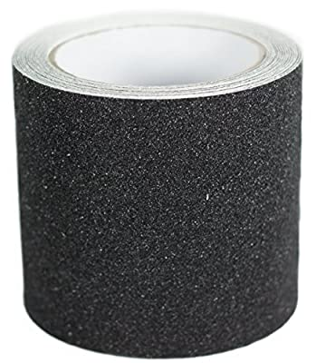 """Non-Slip Tape Roll, 15 Feet, 1"""" or 2"""" or 4"""" Width, Weather Resistant, Commercial Grade 80 Grit, Indoor & Outdoor"""