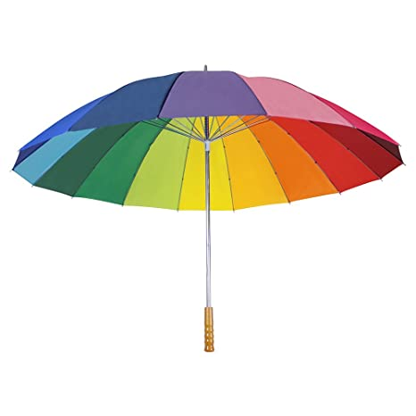 eBuyGB Paragua plegable, multicolor (Multicolor) - 1220499