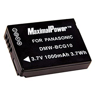 Maximalpower PAN DMW-BCG10 Battery for Panasonic (B002FL4WYW) | Amazon price tracker / tracking, Amazon price history charts, Amazon price watches, Amazon price drop alerts