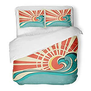 51ewXmQRyiL._SS300_ 50+ Surf Bedding and Surf Comforter Sets