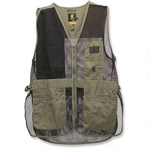 Browning Trapper Creek Vest, Sage/Black, XX-Large