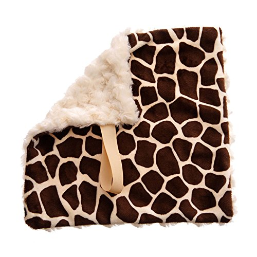 (BbEmerald Cream Giraffe Baby Pacifier Blanket Toys Christmas)