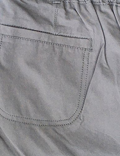 Kirkland Signature Ladies Ankle Length Travel Pant (14, Steel Grey) by Kirkland Signature