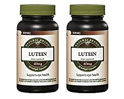 Natural Brand Lutein 40mg 30 Softgel caps (2 Pack)