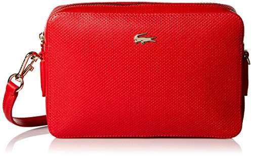 Lacoste Square Crossover Bag, Nf2068ce, High Risk Red