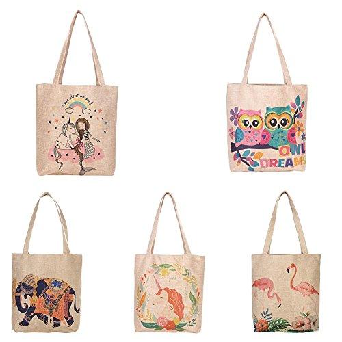 Shopping 9CM Beach Bags Grocery for families Shoulder Bag Schools 36 Simple Versatile Gym 37 Flower205 Hemp D Ladies Bag Bag Bags Suitable Shoulder School Capacity Camps Large Bags Bags ZAqSwpd