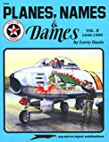 Planes, Names and Dames, Larry Davis, 0897472918