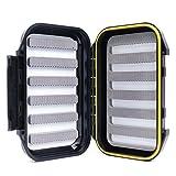 Maxcatch OR Fly Box Waterproof Portable Design for Large Flies(Easy Grip, Slit Foam) (Slit Foam)
