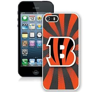 Beautiful And Unique Designed Case For iPhone 5 With Cincinnati Bengals 06 (2) Phone Case