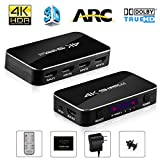 Bluesky 4K HDMI Spiltter Switch, Smallest Size 3 in 2 out HDMI Splitter