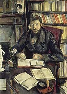 Paul Cezanne Gustave Geffroy c1895–96250gsm ART tarjeta brillante A3reproducción de póster