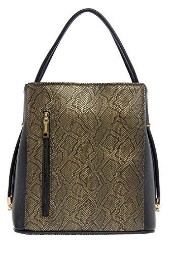 samoe-style-black-and-gold-snakeskin-classic-convertible-handbag