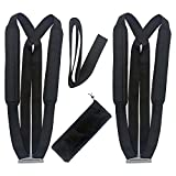 Moving Straps, Fosing 2-person Moving and Lifting Strap Shoulder Harness Lifter Lifting with Sponge Shoulder Pad - Moving Furniture - Easy Move and Safe