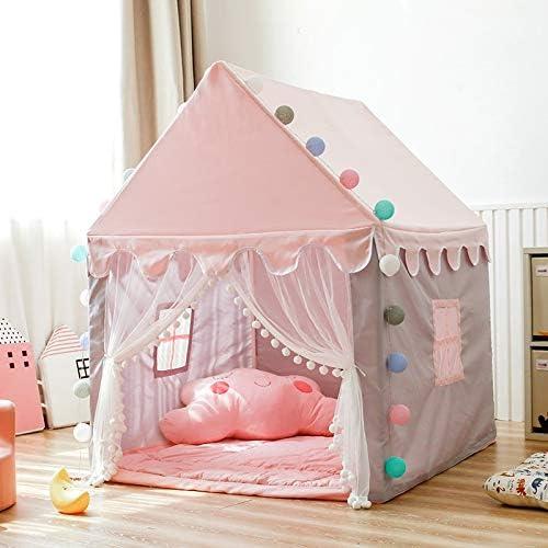WNN -URG Kindertent Indoor Prinses Meisje Slapen Droom Kasteel Thuis Game Huis met Dikke Vloermat URG