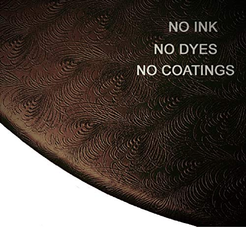 - Econotex Fitted Round Sculptured Vinyl Table Cloth Cover fits 36