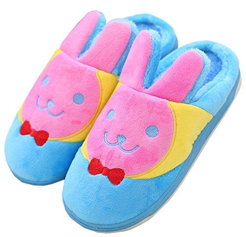 Pantofole Blubi Da Donna Calde Pantofole Calde Morbide Pantofole Interne Con Suola Spessa Celeste