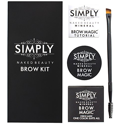 Simply Naked Beauty Eyebrow Color and Shaping Kit with Ey...