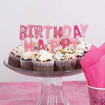 idealWigsNet Velas escogidas Happy Birthday de Glitz de ...