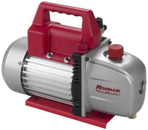 Robinair (15500 VacuMaster Economy Vacuum Pump - 2-Stage, 5 CFM (Robinair Vacuum Pump)