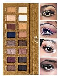 AFU Eyeshadow Palette Matte + Shimmer 16 Colors Makeup...