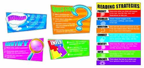 Language Arts Bulletin Board (Carson Dellosa Reading Strategies Bulletin Board Set (110103))