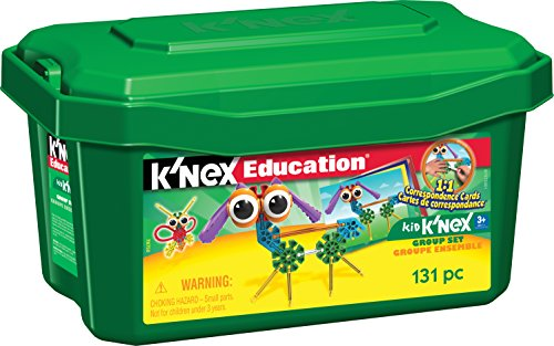 K'NEX Education – Kid K'NEX Group Building Set – 131 Pieces – Ages 3+ – Preschool Educational Toy - Kid Knex Building